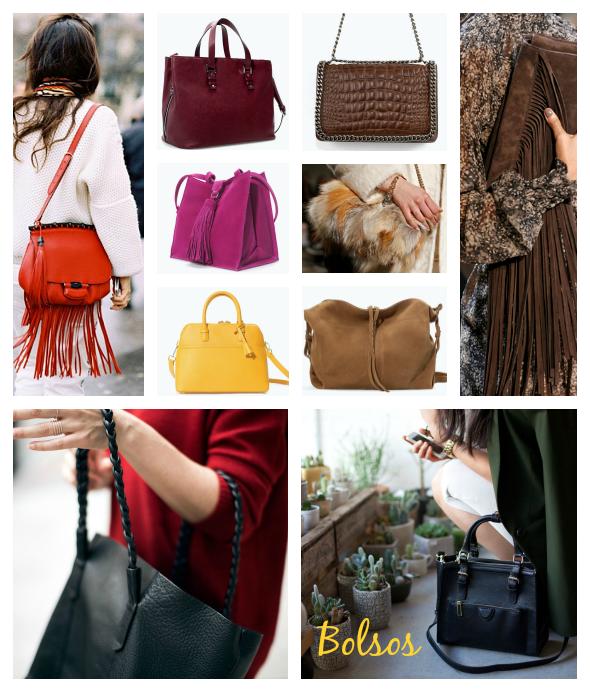 Moda accesorios bolsos otono invierno 2014 2015