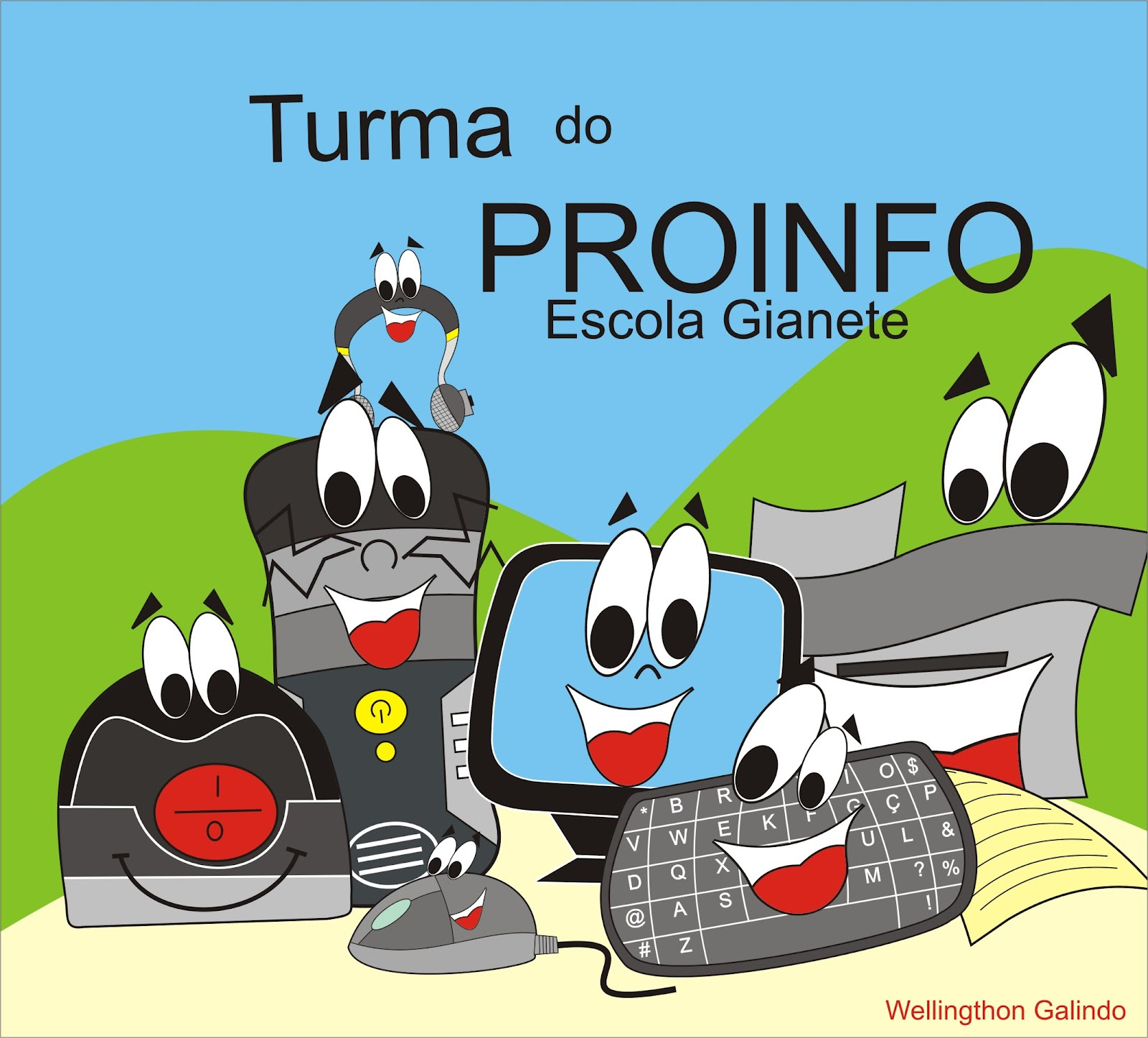 Turminha do Proinfo