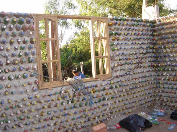 House Made From Plastic Bottles