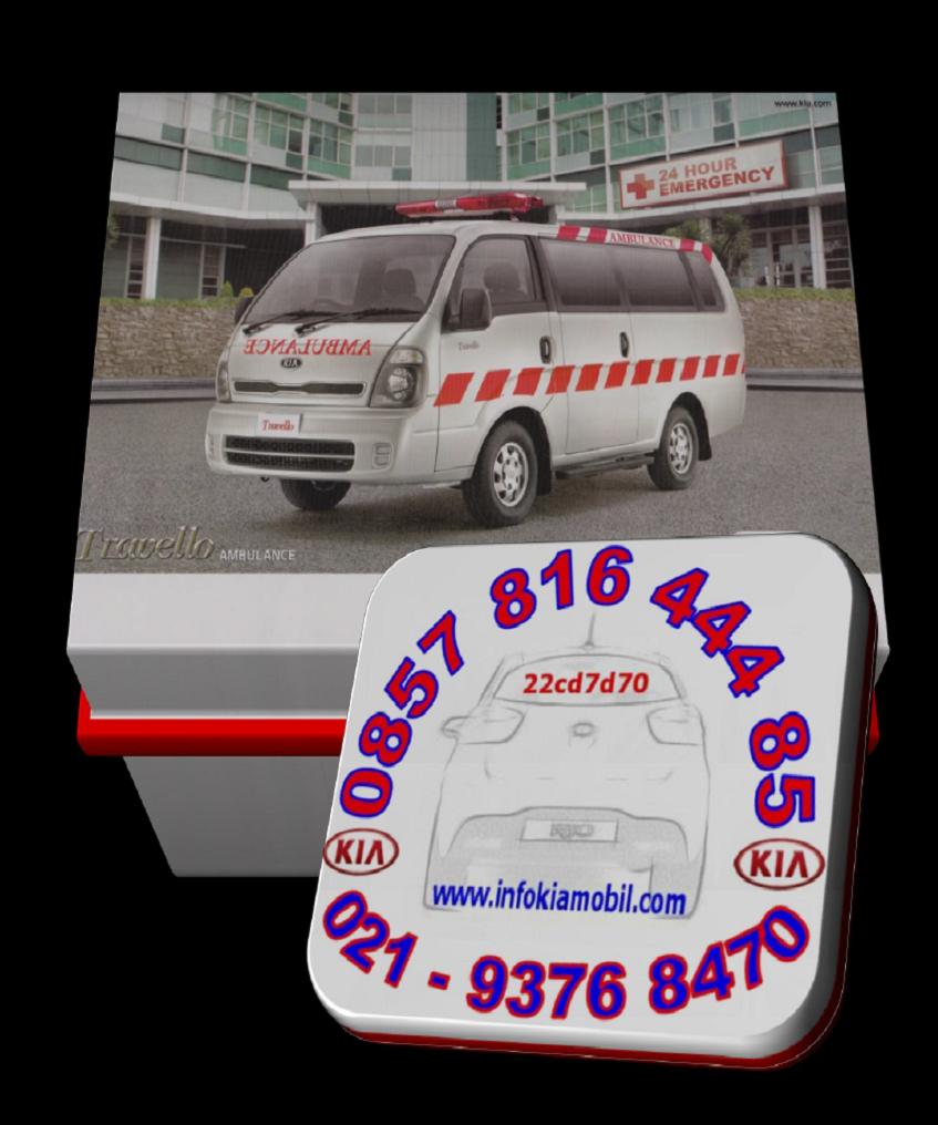 Promo KIA Travello Ambulance Bekasi