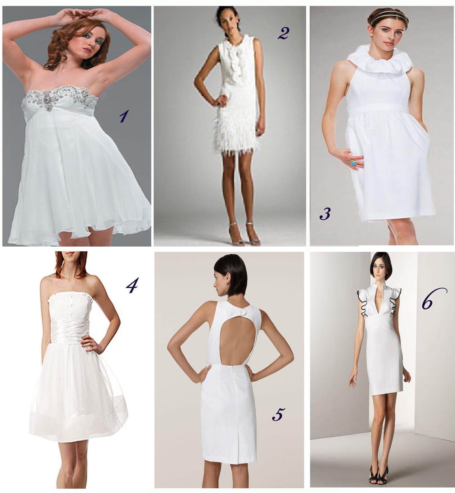 CooLingerie: Inspiring Wedding Ideas of Short Bridal Dresses