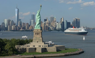 Queen Mary 2 Departs New York Enroute To Southampton on Her 200th Crossing (July 6th).