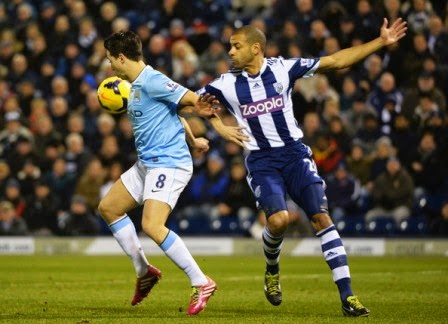 Manchester City vs West Bromwich Albion