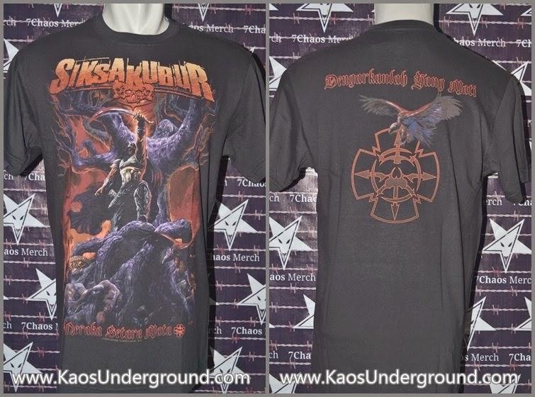 band siksa kubur jakarta kaosunderground.com deathmetal SevenChaos Merch