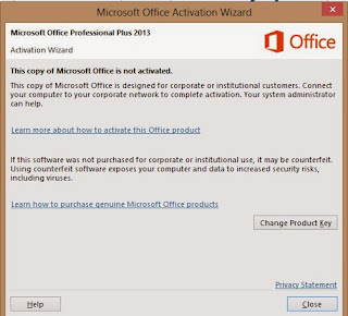 Image Result For Microsoft Office Not Activated Crack