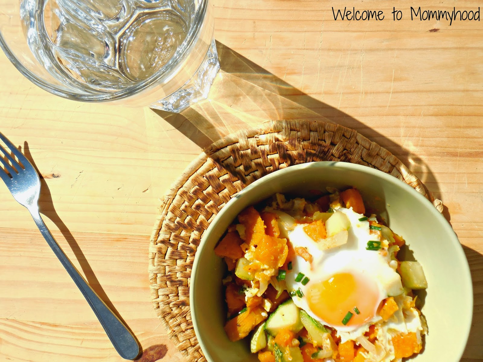 Sweet potato hash by Welcome to Mommyhood #paleo #vegetarian #healthy