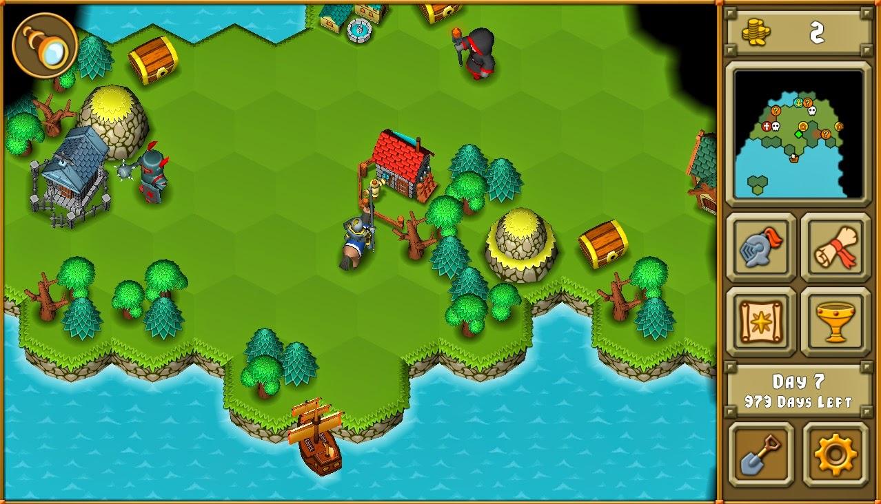 Heroes A Grail Quest, estrategia por turnos en tu móvil