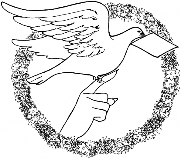 Letters Coloring Pages