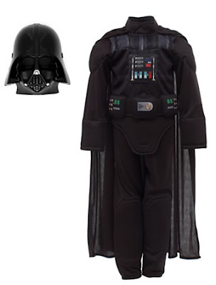 Disney Store Star Wars Darth Vader Costume