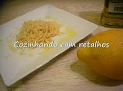 Macarrão ao limão siciliano