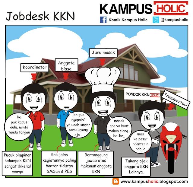 #197 Jobdesk KKN, ala mahasiswa komik kampus holic
