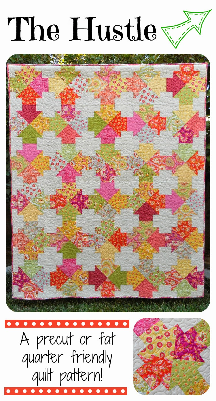Zany Quilter The Hustle Quilt Pattern Is Available