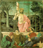 Resurrection by Piero della Francesca art