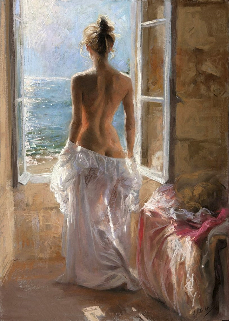 romantic beautiful nude lady