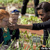 Michelle Obama Joins Kids For White House Garden Spring Planting