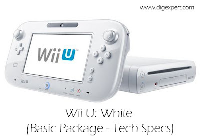 Wii U: Basic Package (Tech Specs and Contents)