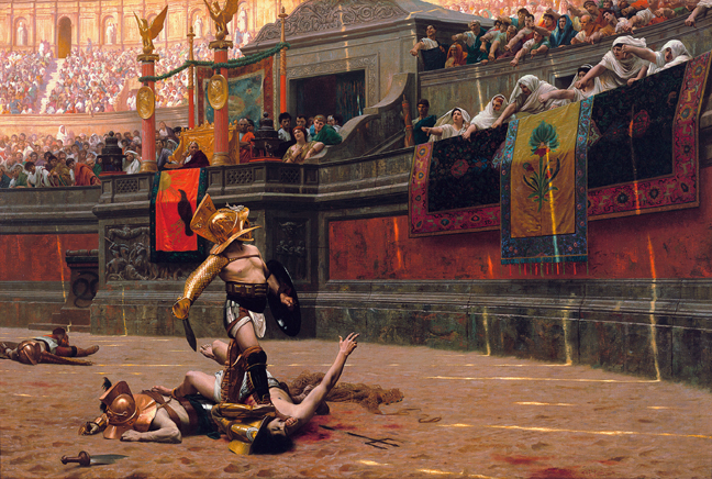 an essay on ancient roman entertainment gladiatorial combat Free essay on the roman coliseum and its construction  and other public entertainment after that date, gladiatorial battles  topics of ancient roman.