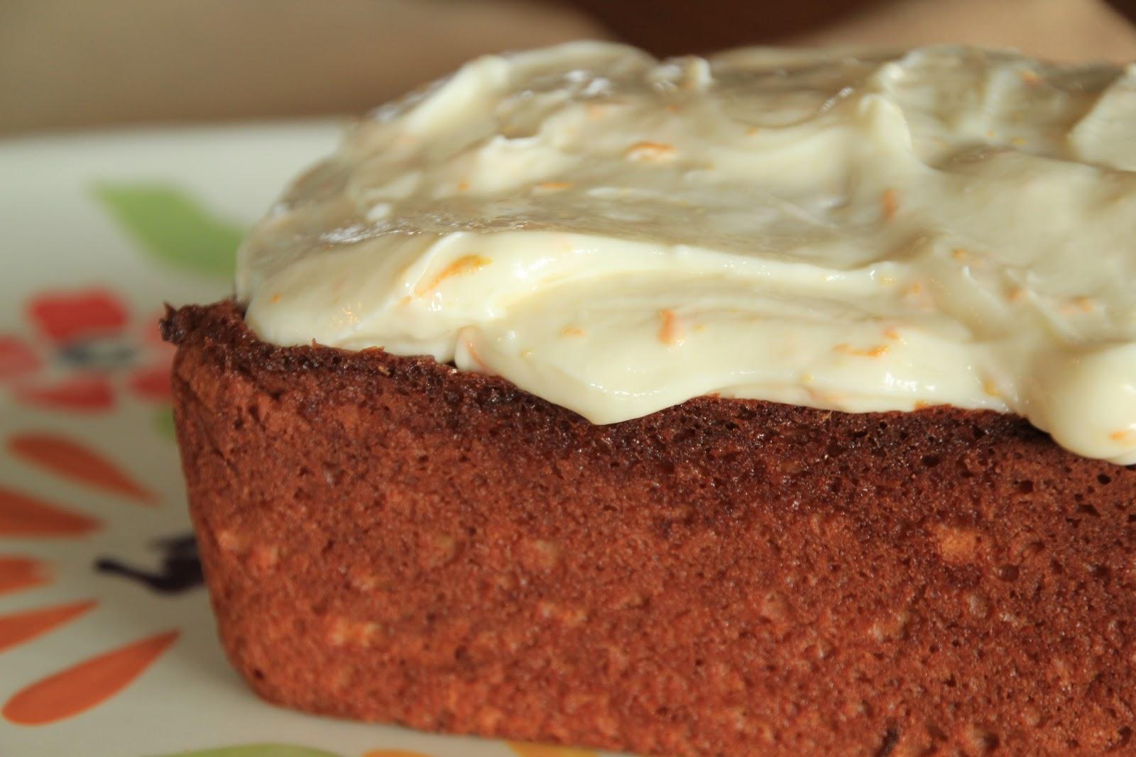 orange yogurt bread with orange cream cheese glaze | greens ...