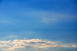 Wolkenbänke...