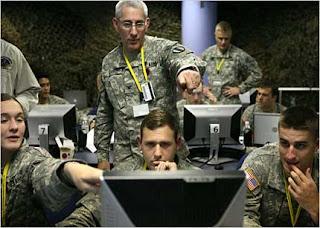 El ejercito americano preparado para ganar cualquier batalla online.