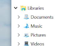 Windows 10 အသံုးျပဳသူေတြအတြက္ Libraries ေလးျပန္ေဖၚနည္း