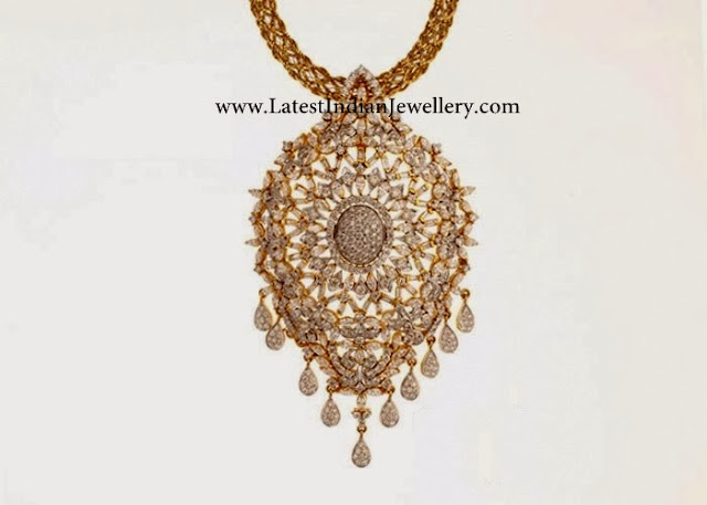 Magnificent 18karat Diamond Necklace