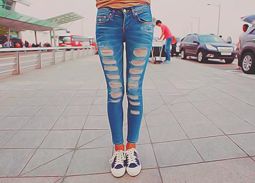 Como Rasgar uma Calça Jeans 4