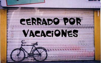 Cerrado por vaciones