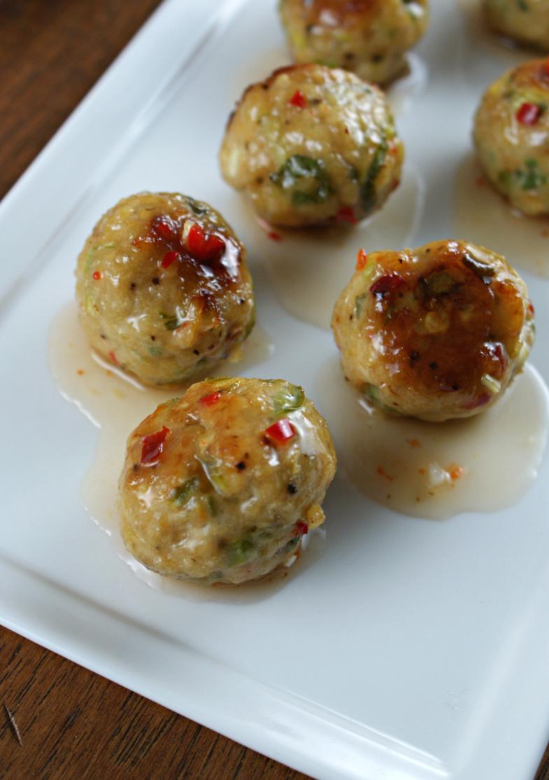 ... Night Bites | Thai Cocktail Meatballs with Sweet Thai Chili Sauce