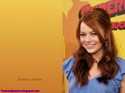 Emma Stone-style Photo shoot Wallpaper