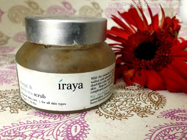 Iraya Orange & Green Tea Scrub Review