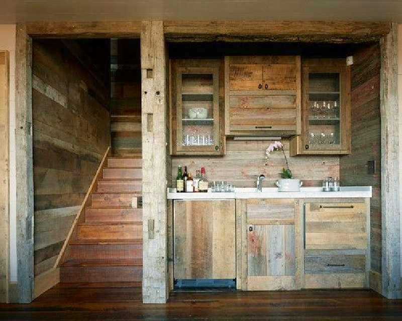 10 incre bles dise os de cocinas for Cocinas hechas con palets