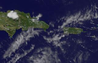 Was ist eine Tropische Welle (Tropical Wave)?, Dominikanische Republik, Punta Cana, aktuell, Satellitenbild Satellitenbilder, Puerto Rico, Wissenswertes Sturm und Hurrikan, Hurrikansaison 2012,