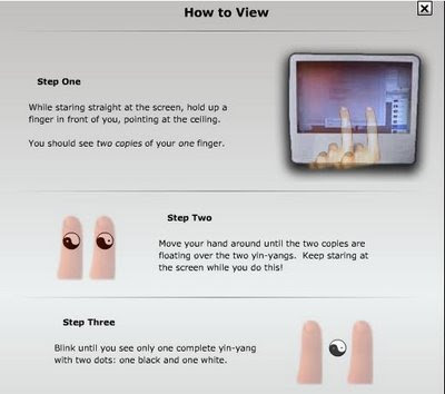 Cara Melihat Gambar 3D