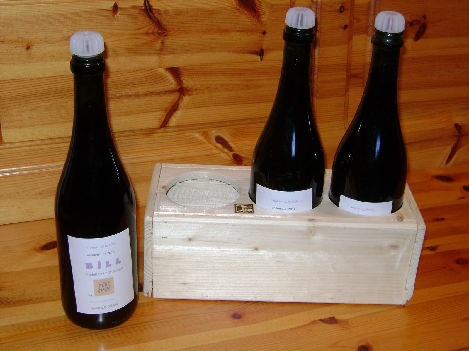 Fermala vino e porta bottiglie - Porta bottiglie ...