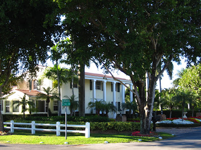 large old style mansion in Miami