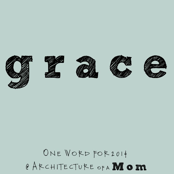 grace one word for 2014
