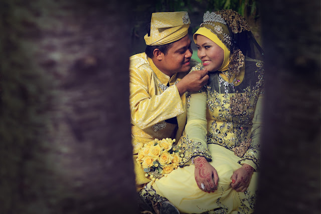 ridzuan & maria outdoor photoshoot 4