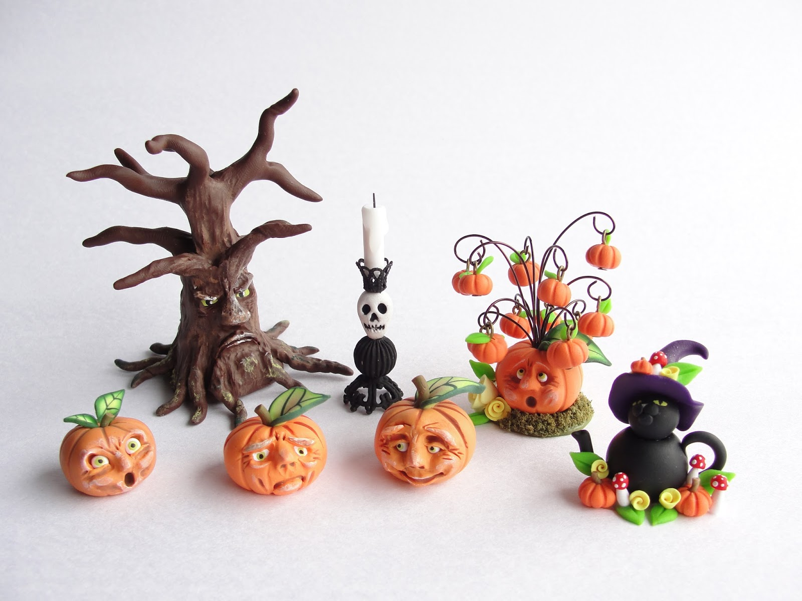 how to make dollhouse miniatures using polymer clay