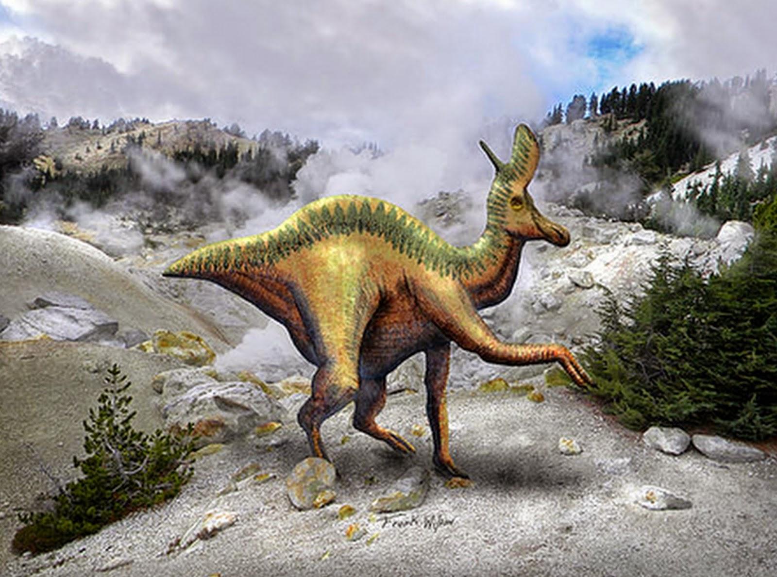 paisajes-con-dinosaurios-pintados-al-oleo