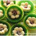 Biskut Tart Bunga Coklat / Chocolate Flower Tart  Cookies