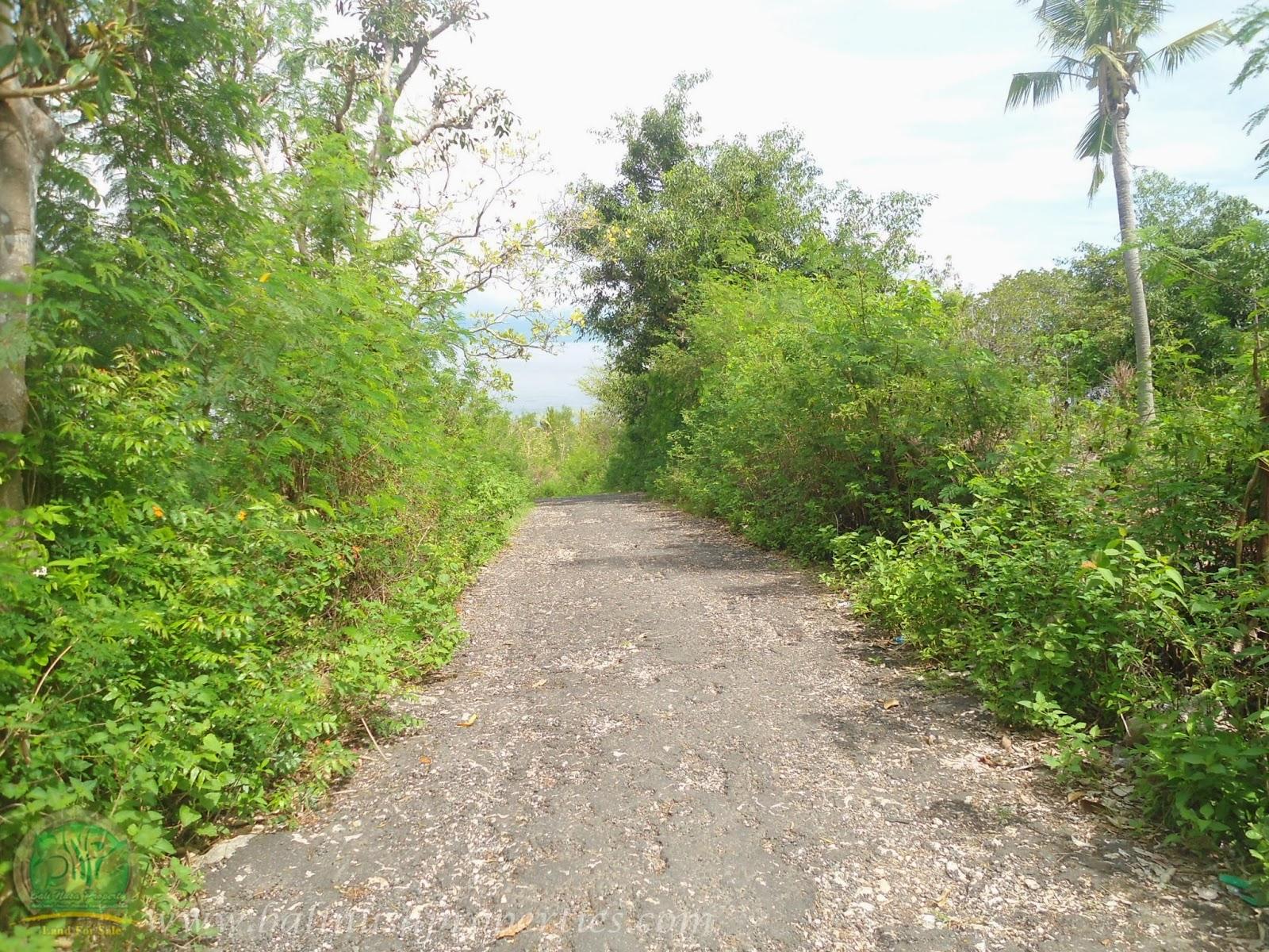 Akses Jalan Langsung ke Lokasi Tanah yang Dijual
