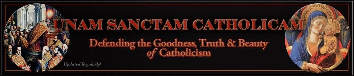 Unam Sanctam Catholicam blog
