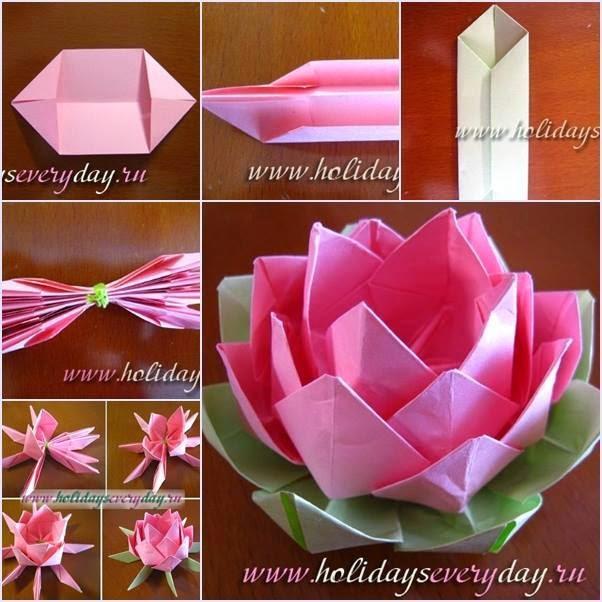 hacer flores de papel origami | facilisimo.com