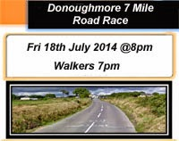 7 mile race to the NW of Cork City. 4th race in Ballyhoura Cork Series