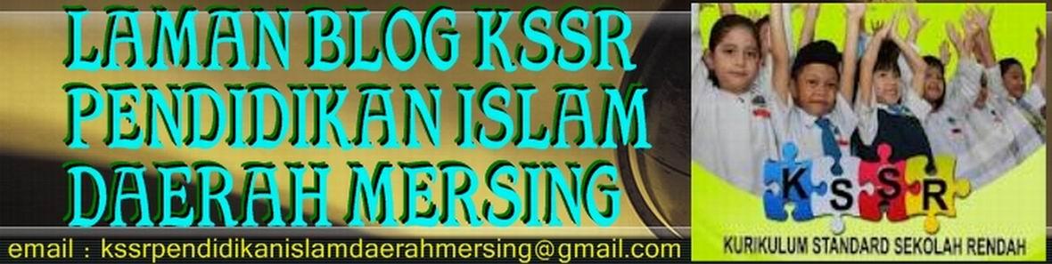 KSSR PENDIDIKAN ISLAM DAERAH MERSING