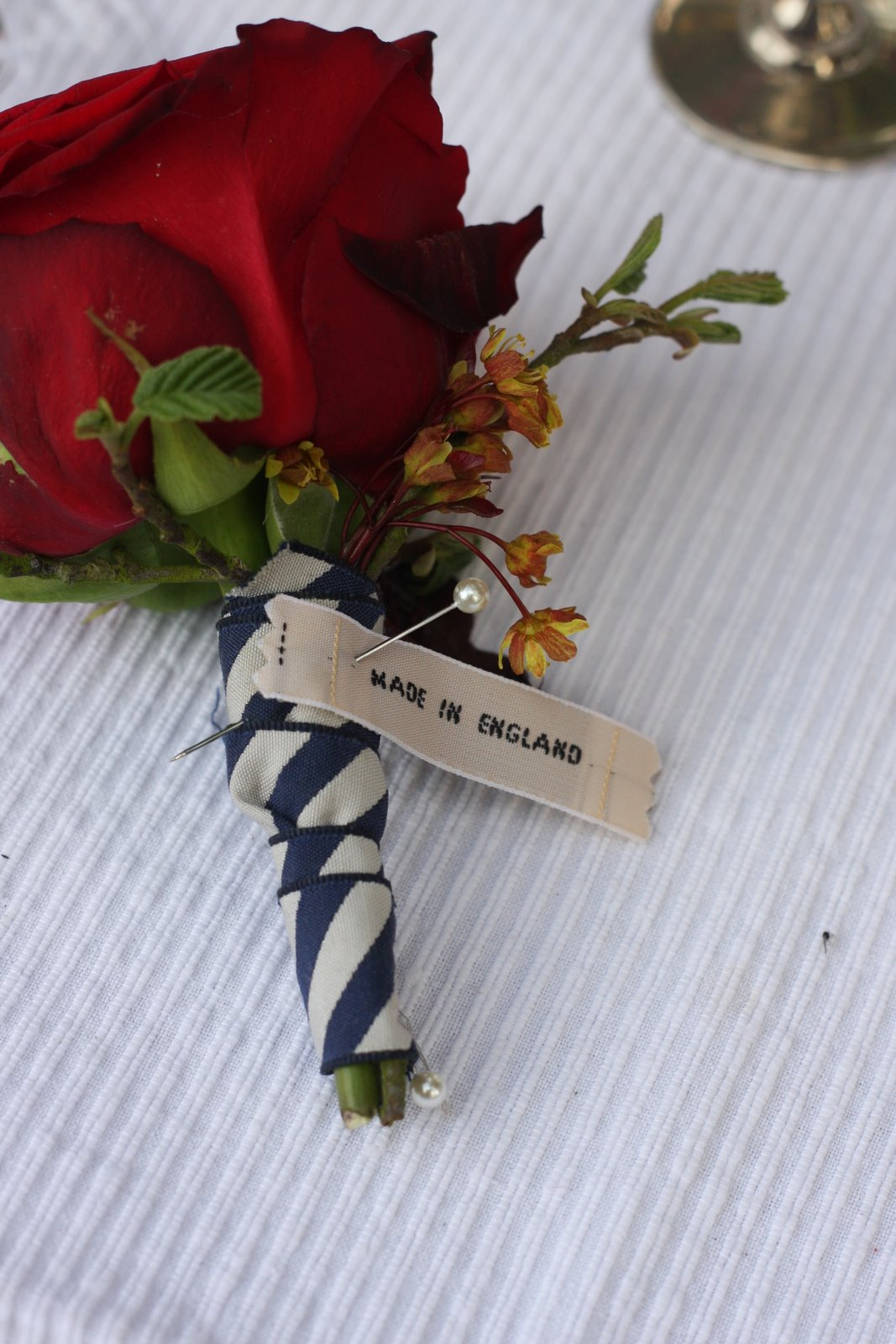 Miss Pickering Royal Garden Party boutonniere