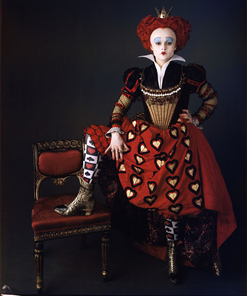 queen of hearts, tim burton alice in wonderland