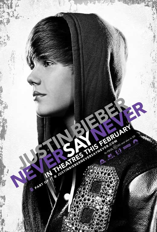 justin bieber never say never 3d movie. A movie? More so, on 3D?