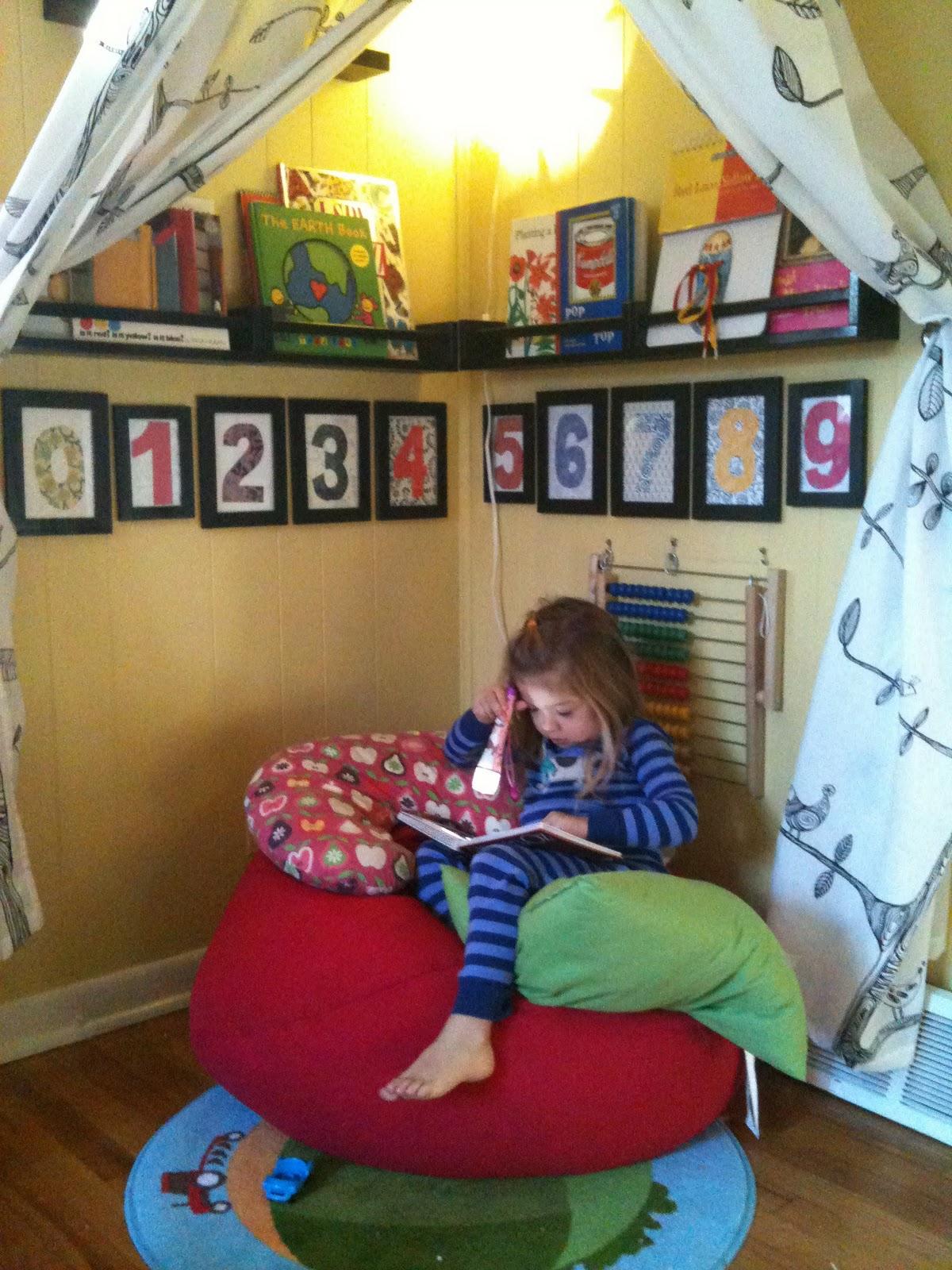 Quiet Classroom Ideas ~ A childhood list quiet space